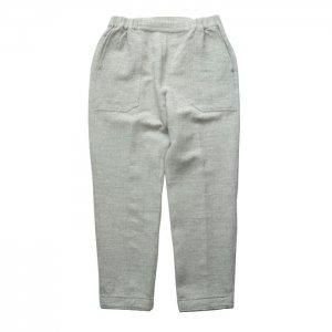 AUGUSTE-PRESENTATION pajama look オーギュストプレゼンテーション ウール/綿 2重織 八分丈パンツ AUPJAW006