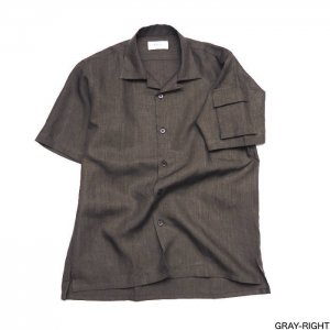 Riprap リップラップ HIGH-COUNT LINEN POCKET SH OF DOMINANT ARM RRS0306