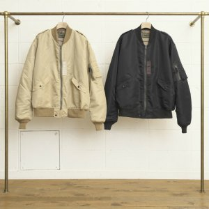UNUSED アンユーズド L-2B jacket / Unused x Buzz Rickson's. US1295