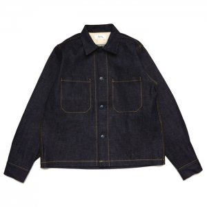 <img class='new_mark_img1' src='//img.shop-pro.jp/img/new/icons1.gif' style='border:none;display:inline;margin:0px;padding:0px;width:auto;' />Riprap リップラップ DENIM SHIRTS WITH CERAMIC BUTTON RRS0403