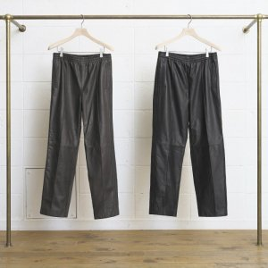 <img class='new_mark_img1' src='//img.shop-pro.jp/img/new/icons16.gif' style='border:none;display:inline;margin:0px;padding:0px;width:auto;' />SALE UNUSED アンユーズド Leather Pants. レザーラインパンツ UW0647