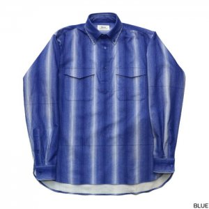 Riprap リップラップ  3M STRIPE PULL-OVER B.D SHIRTS RRS0503