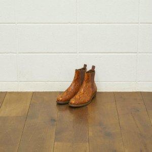 UNUSED アンユーズド python / side gore boots. サイドゴアブーツ パイソン UH0484