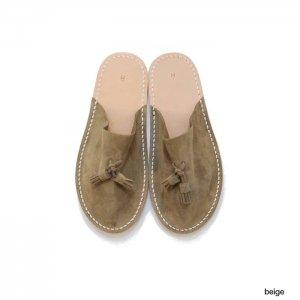 Hender Scheme エンダースキーマ leather slipper レザースリッパ fl-rc-les