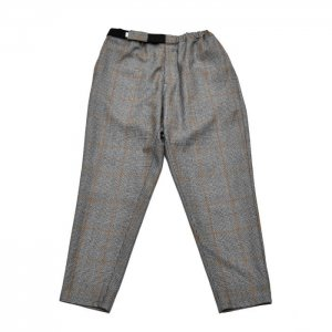 Graphpaper グラフペーパー Graphpaper Glencheck Wool Cook Pants GM184-40507