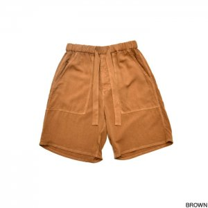 Graphpaper グラフペーパー Soft Cupro Baker Shorts GM191-40010