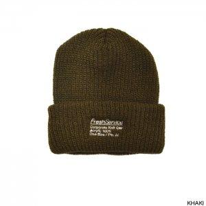 FreshService フレッシュサービス Corporate Knit Cap   FSW-19-AC-22