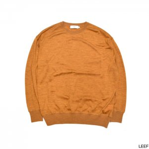 Graphpaper グラフペーパー Washable Wool Big Crew Neck Tee  GU193-70072B