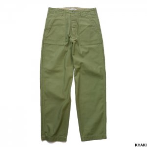 BAMBOO SHOOTS バンブーシュート Fatigue Trouser w/sec pocket 1902008