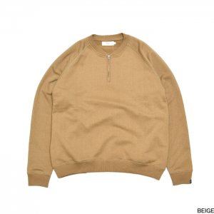 "Graphpaper グラフペーパー ""LOOPWHEELER"" for GPHalf Zip Sweat GU193-70127B"