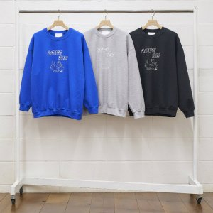 UNUSED アンユーズド × BACK DOOR × T-BONE FLETCHER sweat. US1807
