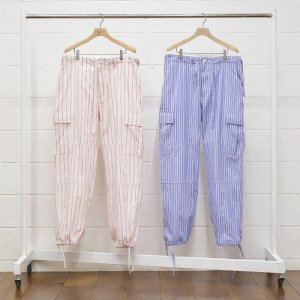 <img class='new_mark_img1' src='https://img.shop-pro.jp/img/new/icons50.gif' style='border:none;display:inline;margin:0px;padding:0px;width:auto;' />UNUSED アンユーズド stripe pants. ストライプカーゴパンツ UW0867