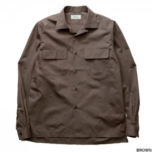 Riprap リップラップ SEMI OPEN COLLAR SHIRTS L/S RRS0902