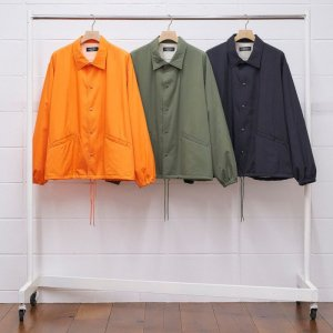 2020AW 先行予約 9月下旬お届け予定 UNUSED アンユーズド nylon coach jacket. US1853