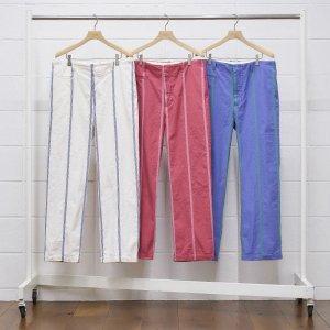 2021SS 先行予約 3月中旬お届け予定 UNUSED アンユーズド stripe pants. UW0965