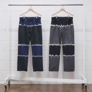 2021SS 先行予約 4月中旬お届け予定 UNUSED アンユーズド tie dye pants. UW0959