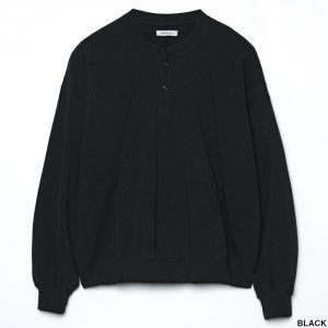 <img class='new_mark_img1' src='https://img.shop-pro.jp/img/new/icons1.gif' style='border:none;display:inline;margin:0px;padding:0px;width:auto;' />MATSUFUJI マツフジ Henry Neck Sweat Shirt M211-0602