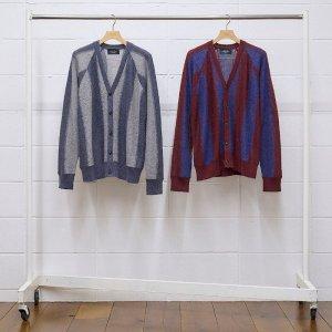 2021AW 先行予約 8月下旬お届け予定 UNUSED アンユーズド stripe cardigan. US2096