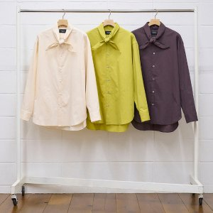 2021AW 先行予約 8月下旬お届け予定 UNUSED アンユーズド long sleeve shirts. US2104