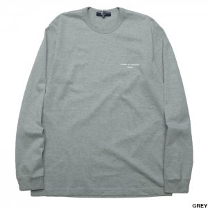 <img class='new_mark_img1' src='https://img.shop-pro.jp/img/new/icons1.gif' style='border:none;display:inline;margin:0px;padding:0px;width:auto;' />COMME des GARCONS HOMME コムデギャルソン オム 綿天竺 ロゴTシャツ ロングカットソー HH-T024-051