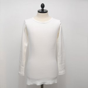 N.HOOLYWOOD Under Wear Line(N.ハリウッド) CREW NECK LONG SLEEVE (WHITE) 43pieces