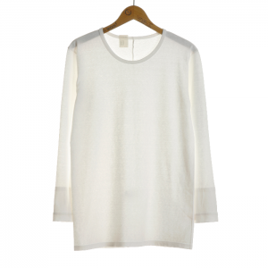 N.HOOLYWOOD Under Wear Line(N.ハリウッド) CREW NECK LONG SLEEVE (WHITE) 50pieces