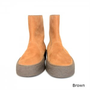 <img class='new_mark_img1' src='//img.shop-pro.jp/img/new/icons16.gif' style='border:none;display:inline;margin:0px;padding:0px;width:auto;' />SALE hobo ホーボー Cow Suede Curling Boots by SANDERS  HB-F2203