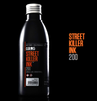 GROG��STREET KILLER INK��200ml