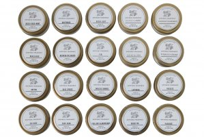 APOTHEKE FRAGRANCE / TRAVEL TIN CANDLE