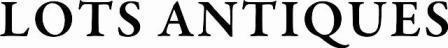 LOTS ANTIQUES(ロッツ アンティークス) 福岡県北九州市のアンティーク家具・雑貨店