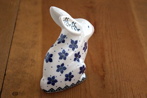 ポーランド陶器「アルティスティッチナ社」スリムうさぎ トール