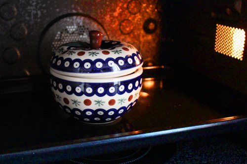 ポーランド陶器「アルティスティッチナ社」りんごポット