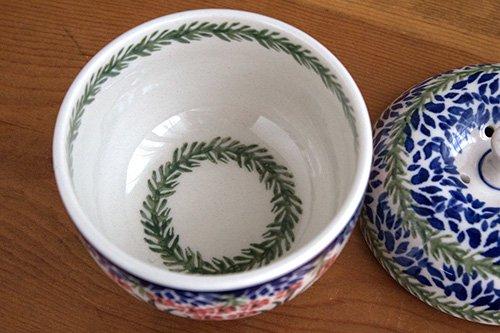 ポーランド陶器「アルティスティッチナ社」りんごポット 小