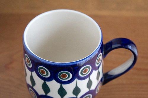 ポーランド陶器 ボレスワヴィエツ「ミレナ社」バブルマグ 中 0.35L