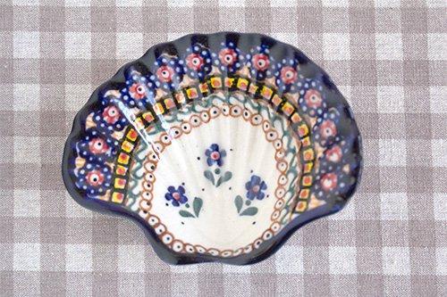 ポーランド陶器 ボレスワヴィエツ「ミレナ社」ソープディッシュ