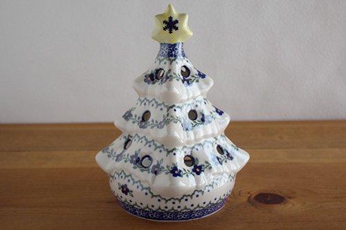 「VENA」クリスマスツリー【青い小花のリース】