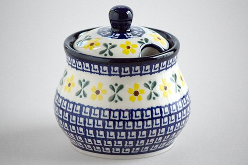 ポーランド陶器 ボレスワヴィエツ「ミレナ社」シュガー・ボウル