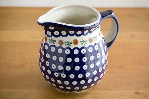 ポーランド陶器 ボレスワヴィエツ「ミレナ社」ピッチャー 1L