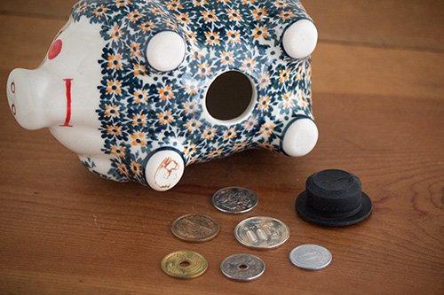ポーランド陶器 ボレスワヴィエツ「ボレスワヴィエツ社」ぶた貯金箱