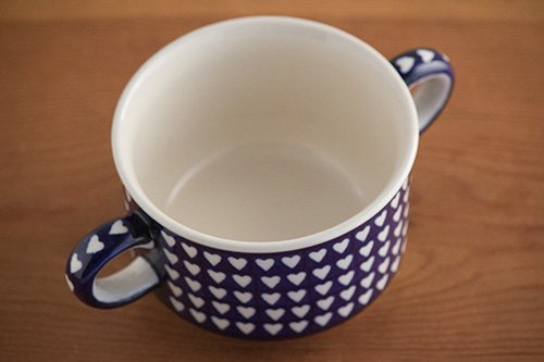 「ボレス」スープカップ・ハンドル付