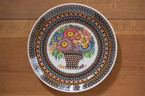 ポーランド陶器「アルティスティッチナ社」絵皿 大 25cm