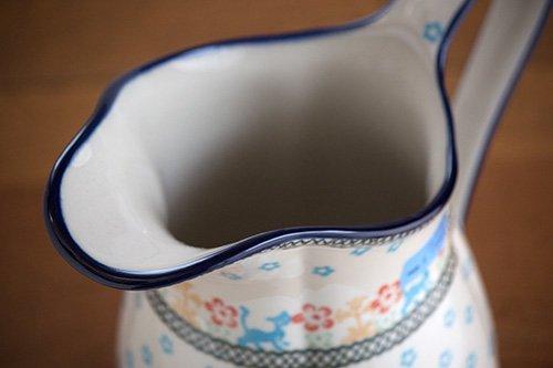 ポーランド陶器「アルテ」ピッチャー
