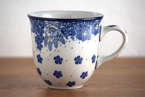 ポーランド陶器「アルティスティッチナ社」広口マグ