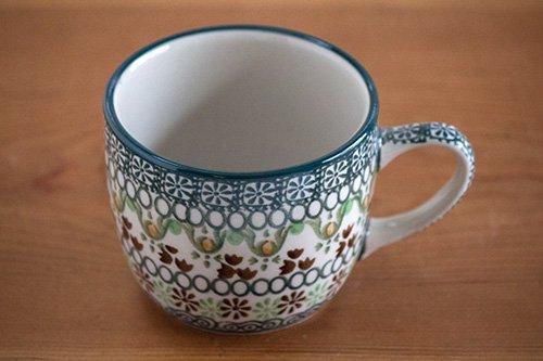 ポーランド陶器「アルティスティッチナ社」コーヒーカップ 250cc