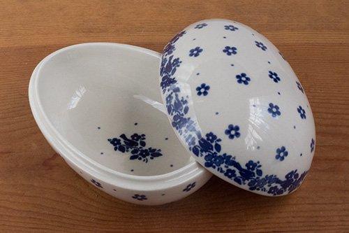 ポーランド陶器「アルティスティッチナ社」たまご型キャニスター