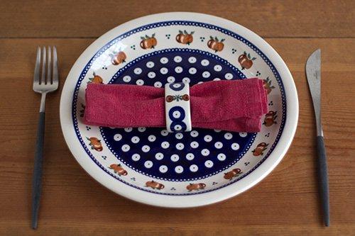 ポーランド陶器「アルティスティッチナ社」ナプキンリング