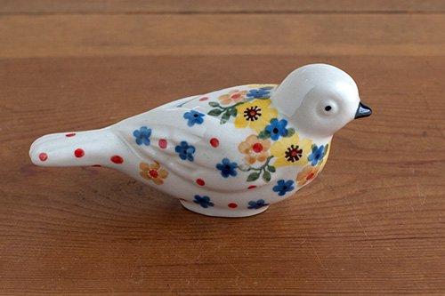 ポーランド陶器「アルティスティッチナ社」小鳥