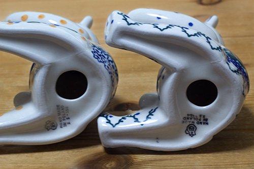 ポーランド陶器「アルティスティッチナ社」くま