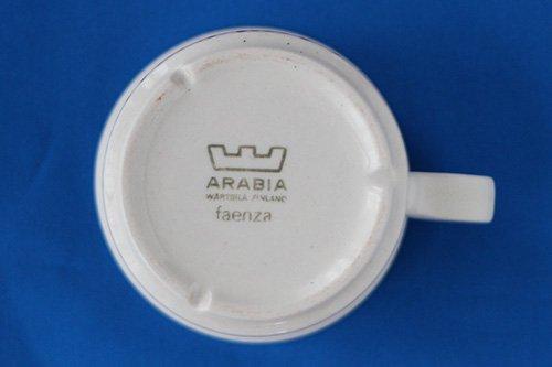ARABIA faenza アラビア ファエンツァ/北欧ヴィンテージ食器