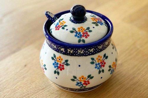 ポーランド陶器 ボレスワヴィエツ「ミレナ社」シュガーースプーン